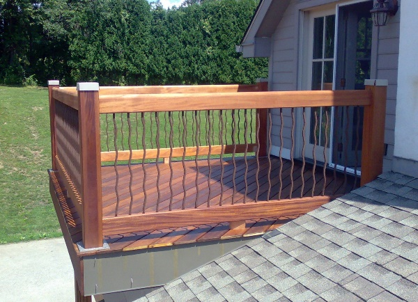 Wood decks in Delaware